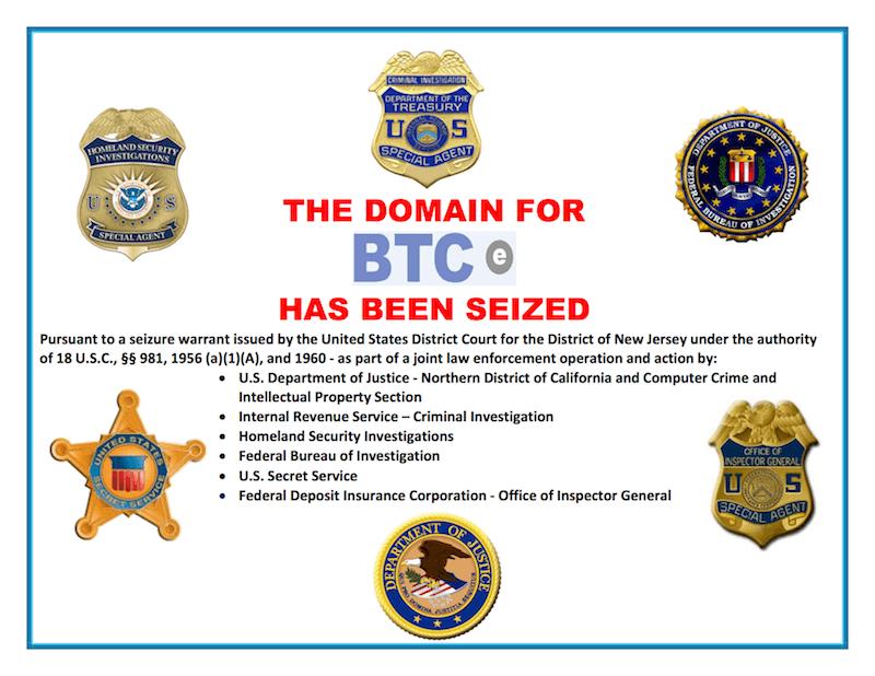 Przejęcie przez FBI giełdy BTC-e